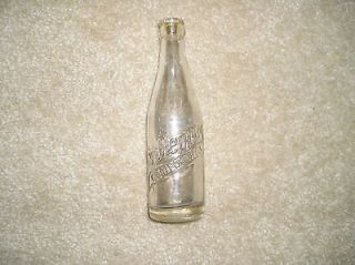Vintage/Antiqu​e? Dr. Pepper Glass Soda Bottle   6½ oz Clear