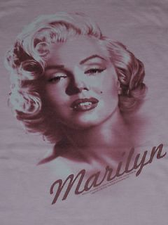 Marilyn Monroe Womens Jr. Top (Size Large, Color Pink) New
