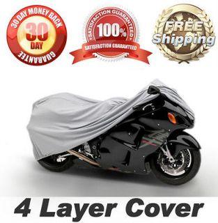 MOTORCYCLE SPORT BIKE COVER GREY STREET BIKES STORAGE COVERS