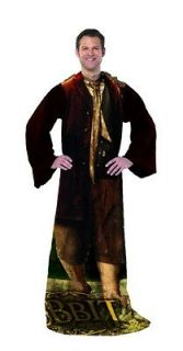 The Hobbit Being Bilbo Baggins Costume Comfy Throw LOTR Lord of the