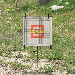 Steel Paper Target Holder Stand ~ Gun ~ Shooting ~ Sighting ~ Firearm