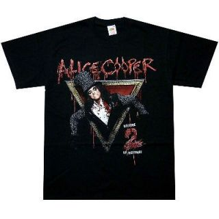 ALICE COOPER Welcome To My Nightmare 2 Official T SHIRT S M L XL T