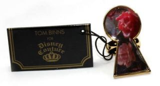 Disney Couture Tom Binns Alice Keyhole Ring Size 6