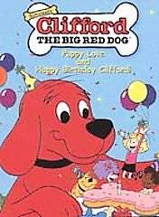 Clifford the Big Red Dog   Puppy Love and Happy Birthday Clifford DVD
