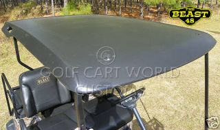EZGO TXT Golf Cart Top/Canopy bla​ck