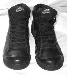 "Nike Blazer Mens Black Classic High Top Shoe Sneaker Size: 10 ½ ""M"