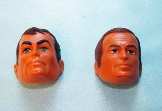 BIONIC SIX MILLION DOLLAR MAN 2 MASKATRON MASKS FOR DOLL ACTION FIGURE