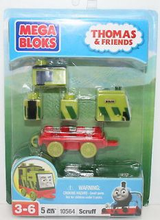 10564 * Scruff * Mega Bloks Blok THOMAS TRAIN & FRIENDS New EXTREMELY