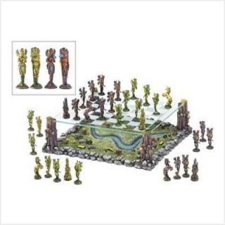 FAIRY DELUXE CHESS SET wicca altar pagan FAIRY FAE