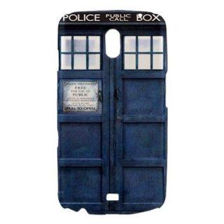 Blue Police Call Box Dr. Who TARDIS Samsung Galaxy Nexus i9250 Phone