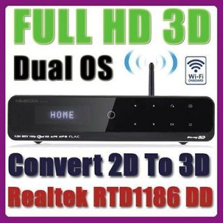 HD900B Full HD 1080p 3D Android Blu Ray Media Player WiFi N Built in
