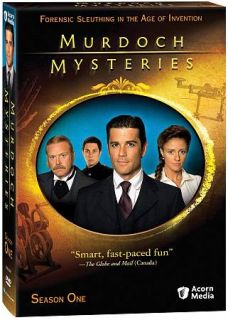 Murdoch Mysteries   Season One DVD, 2009, 4 Disc Set