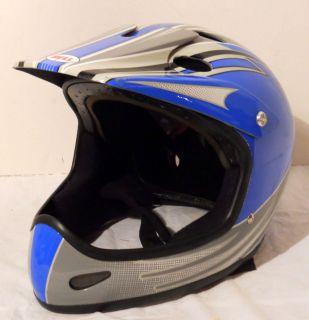 BLUE BELL TRAX HELMET M133 M 56 59cm MOTOX MOTOCROSS DIRT BIKE