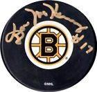 Don McKenney Autographed Boston Bruins Hockey Puck