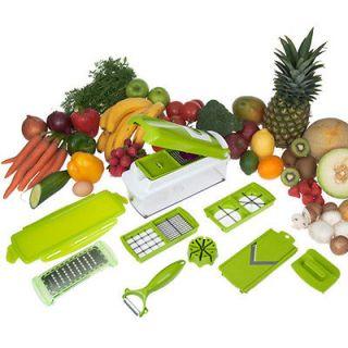 Kitchen Vegetable Fruit Nicer Dicer Slicer Cutter Container Chopper
