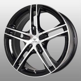 Verde Protocol Black Wheels Rims 5x115 Bonneville Grand AM Grand Prix