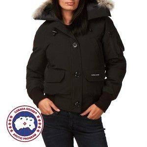 Canada Goose Chilliwack Bomber Womens Jacket   Black