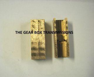 Bronze Fork Pads Inserts T56 T 56 Transmission Camaro