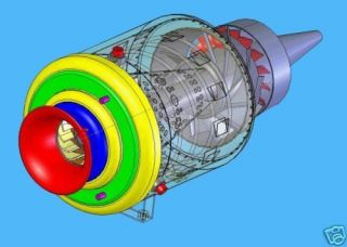 BUILD MINI TURBINE JET ENGINE PLANS CAD READY 021