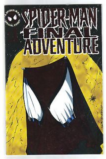 marvel spider man the final adventure vol 1 no 1 1995 special event