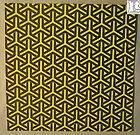 Yellow Boomerangs Blotter Art no LSD or Psychedelics, underground