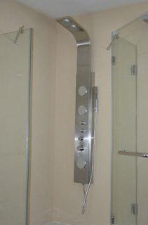 GV Luxury Shower Panel 4 Body Massage Jet Sprays with Handspray Tower