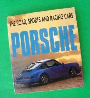 PORSCHE   ROAD, SPORTS, & RACING CARS Dalton Watson 1st ED Hardcover