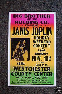janis joplin posters in Entertainment Memorabilia