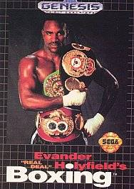 Evander Holyfields Real Deal Boxing Sega Genesis, 1992