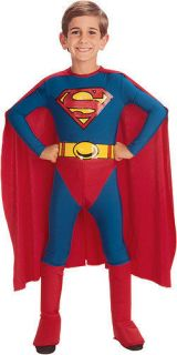 Superman Classic Child Boys Halloween Costume Size Plus Large XL Extra