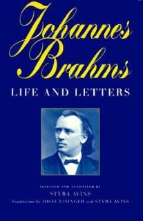 an essay on the life and works of johannes brahms Few composers lived life at a higher pitch of passionate, creative energy than johannes brahms his music brims with dynamism, pulled from the exciting life he lived, characterized by the relationships he had.