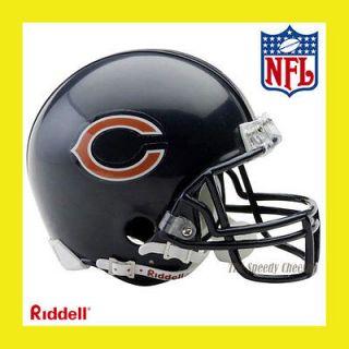 CHICAGO BEARS OFFICIAL NFL MINI REPLICA FOOTBALL HELMET by RIDDELL