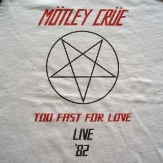 Motley Crue t shirt vtg tour guns n roses la bon jovi aerosmith poison