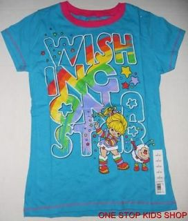 RAINBOW BRITE Girls 4 5 6 6X 7 8 10 12 14 16 Short Sleeve SHIRT Tee