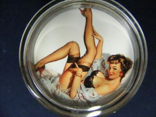 STEERING WHEELSPINNER KNOB,PIN UP GIRL,30s 40s 5​0s(3) (Fits
