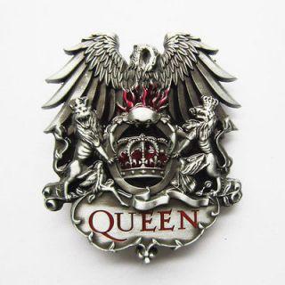 Queen Rock Band Music Metal Belt Buckle