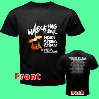 BRUCE SPRINGSTEEN WRECKING BALL TOUR Date 2012 NWT Tee T  Shirt S M L