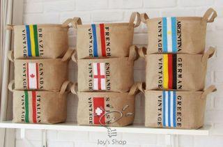National Flag Design Home Organizer for snacks,clothes,books,Toys