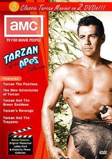 AMC   The Best of Tarzan DVD, 2006, 2 Disc Set