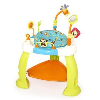 Bright Starts Bounce Seat Baby Activity Zone Gear Child Jump Game Fun