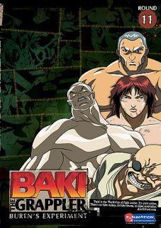 Baki the Grappler   Vol. 11 Burens Experiment DVD, 2007