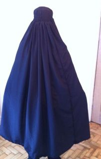 Black Authentic Afghan Ladies Burqa Burka Jilbab Abaya Hijab Fancy