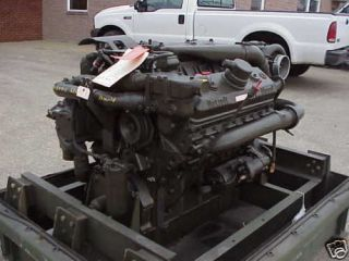 8V71T DETROIT DIESEL ENGINE U.S. GOV. SURPLIUS MILITARY REBUILD