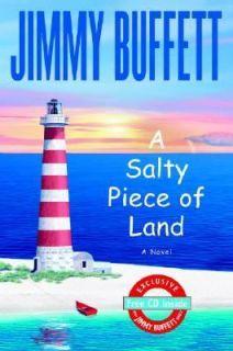 Salty Piece of Land by Jimmy Buffett 2004, Hardcover