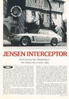 1971 Jensen Interceptor   Road Test   Classic Article D146