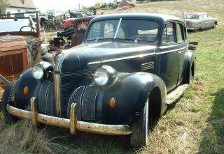 1939 Pontiac Eight sedan hot rod rat rod project
