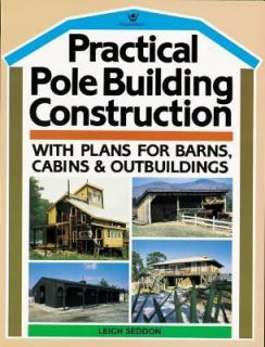 Barns, Cabins and Outbuildings by Leigh Seddon 1985, Paperback