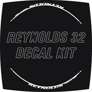 2012 REYNOLDS THIRTY TWO 32 STYLE WHEEL DECALS STICKER KIT
