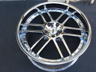 One 20 chrome TSW catalunya wheel rim Mercedes Audi 5X112 10X20
