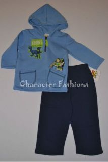 Toy Story BUZZ LIGHTYEAR WOODY 2T 3T 4T Shirt Pants Outfit Set Toddler
